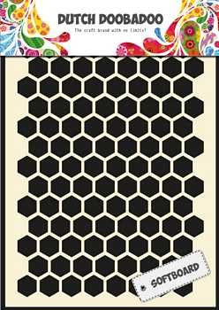 Dutch Doobadoo - Soft Board A5 - Honeycomb