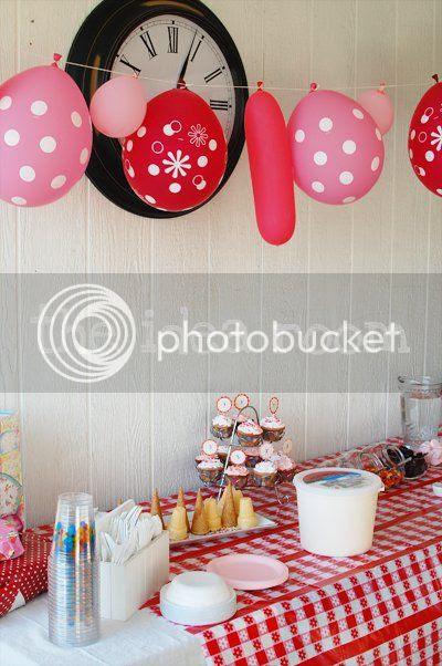 Ice Cream Sundae Bar Birthday Party The Idea Room