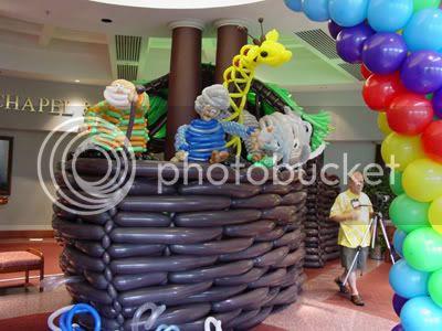 Noah's Ark Balloon Display