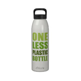 One Less Plastic Bottle Water Bottles