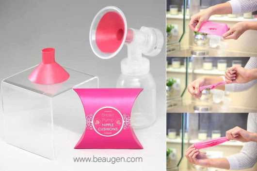 Beaugen Breast Pump Nipple Cushion - Breastfeeding Needs