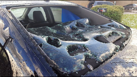 Wylie classes canceled after hail storm