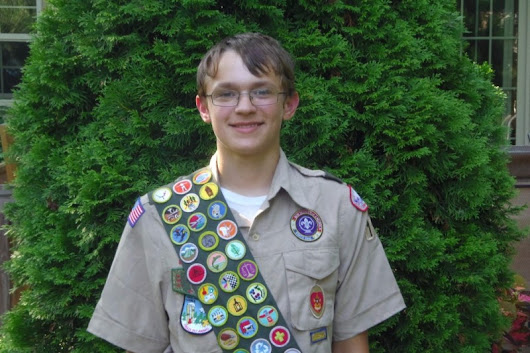 Click here to support Augustin's Eagle Scout Project by Gus R Weiss