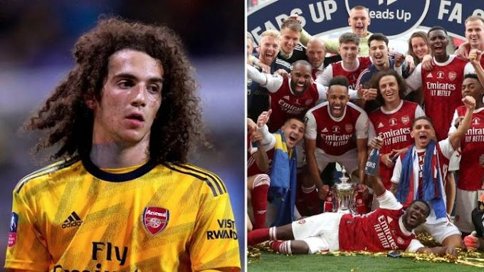 Matteo Guendouzi Breaks Silence After Missing Out On FA Cup Celebrations