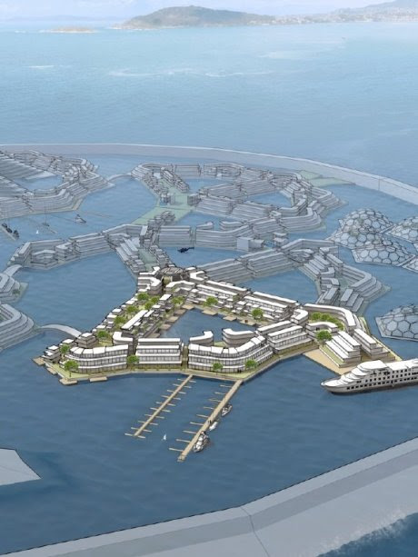 US seasteading group plans floating 'microcountries' with 'start-up governments' - Australia Network News (Australian Broadcasting Corporation)