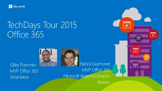2015-08-27 Office 365 Techdays tour