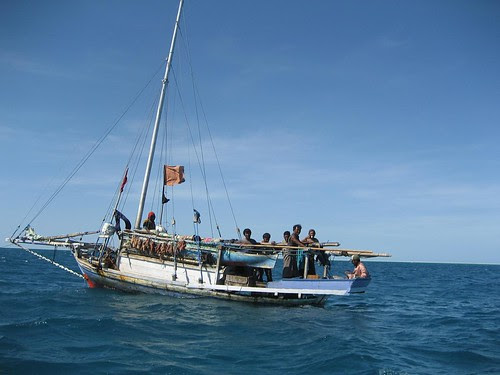 Indonesian 1 fishing boat ashmore