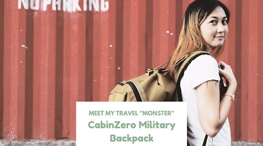 Meet my Travel Monster: CabinZero Military Backpack – coffeehan