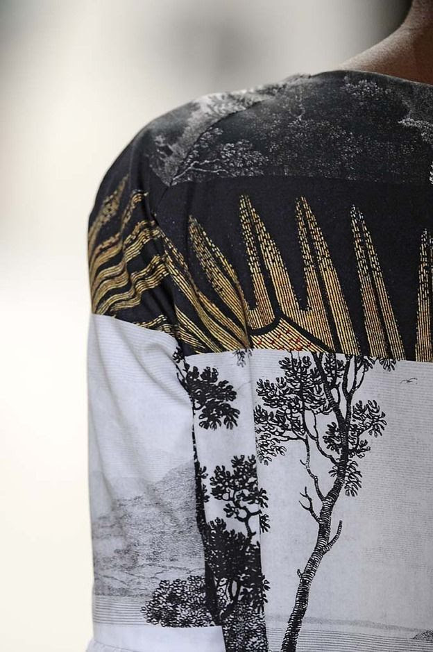 Dries Van Noten / Japanese Inspired detail
