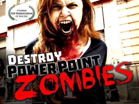 Zombie PowerPoint by @ericpesik