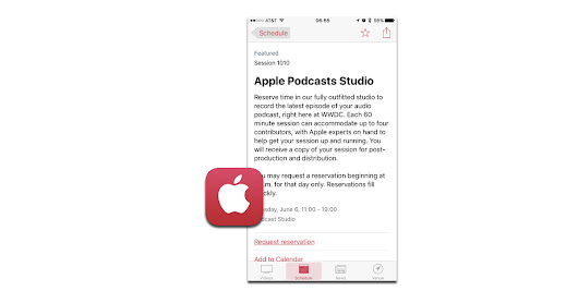 Apple Hosting Recording Studio for Podcasters at WWDC 2017 - The Mac Observer