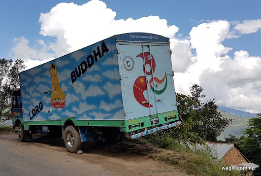 Buddha's truck with trilateral aspirations