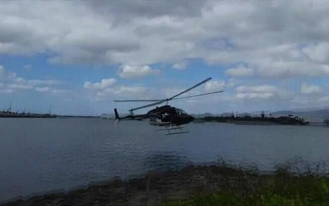 Aeronave fez pouso forçado e afundou perto do centro de visitantes de Pearl Harbor