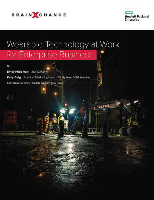 [Free White Paper] Wearable Technology at Work for Enterprise Business