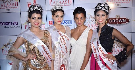 Aittal Khosla from Chandigarh is crowned 'Palaash Miss India-2015' | News Patrollings | News Patrolling | Pinterest