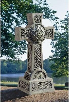 Design Toscano Donegal Celtic High Cross Statue - modern - garden ...