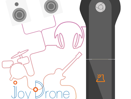 JoyDrone - Music Adapter for Chromecast by DRZcreation — Kickstarter