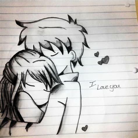 drawn hug chibi pencil   color drawn hug chibi
