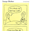 Part-Time Cartoon | Savage Chickens - Cartoons on Sticky Notes by Doug Savage