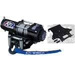 KFI 2500 LB Winch and Mount Kit for Honda 500 Foreman 07-11, 500 Rubicon 07-14