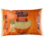 Uncle Bens C Original Long Grain Rice 12 Lb. Bag