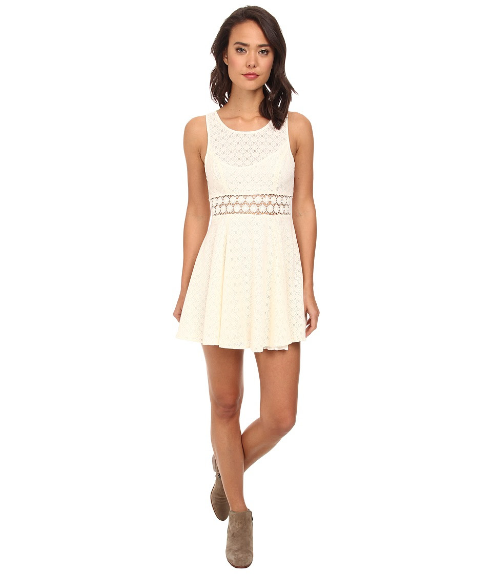 Free People - Daisy Waist Dress (Ivory 1) Women's Dress