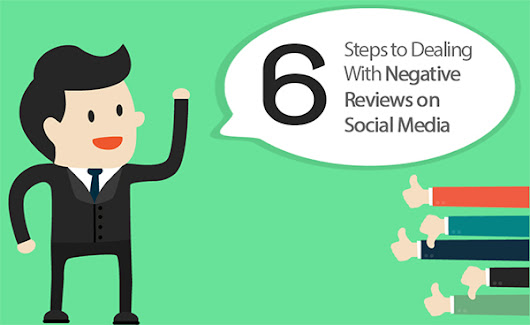 6 Steps to Successfully Deal With Negative Reviews on Social Media