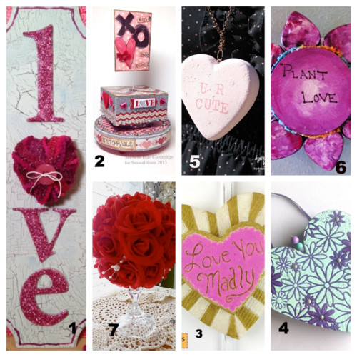 Free Patterns :: New Projects Using Smoothfoam for Valentine's Day (serendipity)