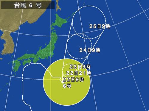 2011-07-22 台風6号