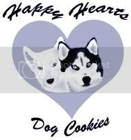 Happy Hearts Dog Cookies
