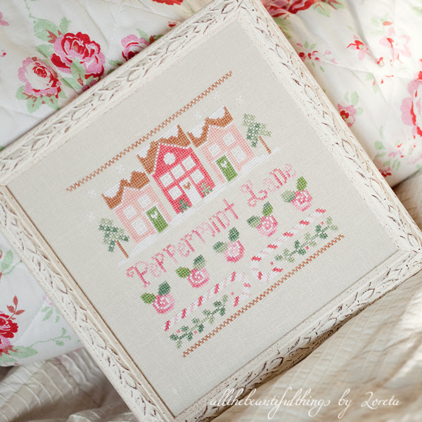 Pepermint Lane (Country Cottage Needleworks)