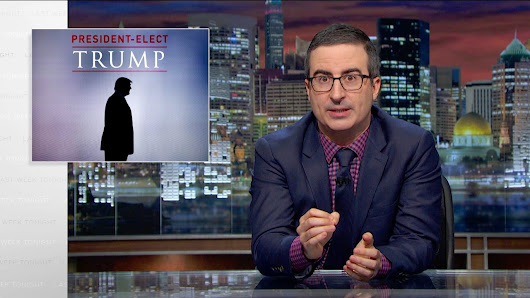 President-Elect Trump: Last Week Tonight with John Oliver (HBO) - YouTube
