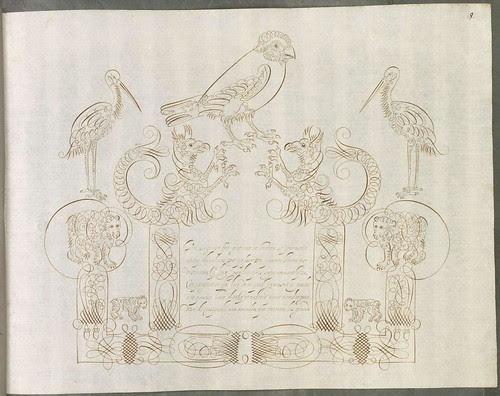 ornate calligraphy