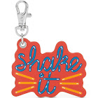 Kipling Shake It Monkey Keychain Charm Multicolor