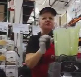 A Costco employee was caught on camera going on an antisemitic tirade. Photo: Screenshot.