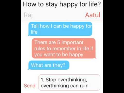 How to stay happy for life?