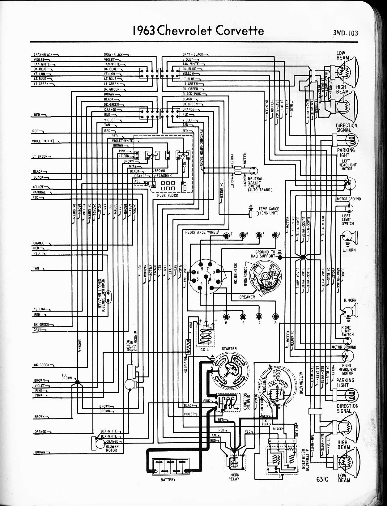 6b09493 1966 Corvette Wiring Diagram Free Wiring Diagram Library