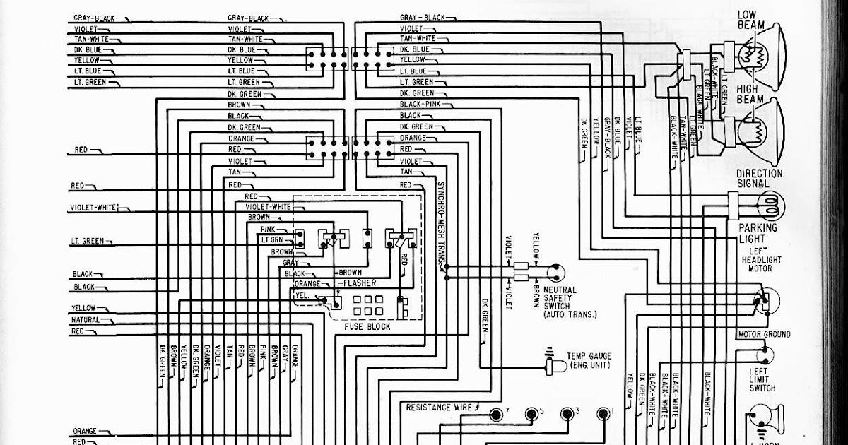C3 Corvette Wiring Diagram