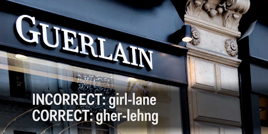 How To Pronounce Difficult To Say Brands - Business Insider