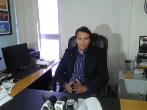 """""""Em 15 anos de polícia, nunca vi nada do tipo"""", afirmou o delegado Antônio Edson. (Foto: Carolina Sanches/G1)"""