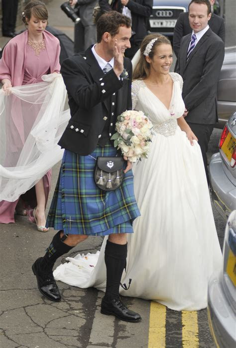 Andy Murray and Kim Sears' wedding in pictures