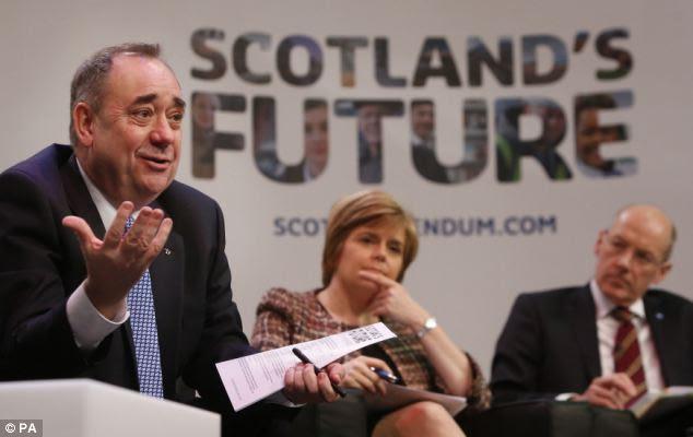 Αγωνιστές της ανεξαρτησίας έχουν εμπνευστεί από το SNP και έχουν επισκεφθεί πολιτικές συγκεντρώσεις στη Σκωτία μαζί με Καταλανών και των Βάσκων αυτονομιστών