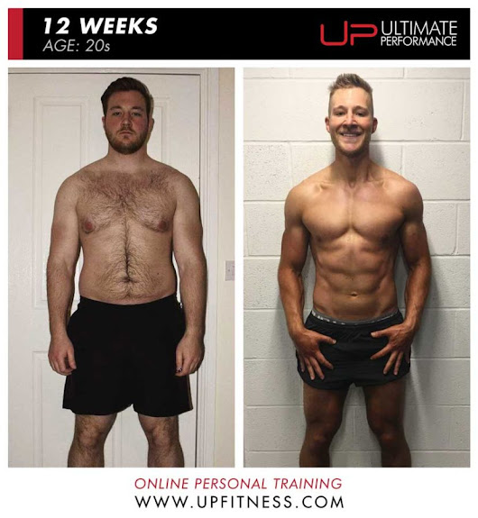 Chris lost 18kg to Get Impressive 12-Week Six-Pack with Online Training - Ultimate Performance