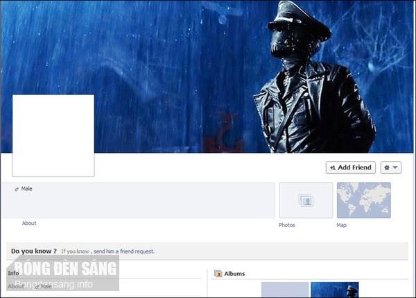Hkcs1 Tài khoản của ma trên Facebook