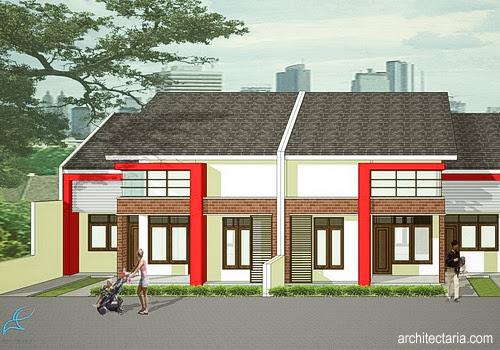 Desain Rumah Mungil Type 70 Pt Architectaria Media Cipta