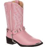 Girls' Durango Boot Pink Rhinestone