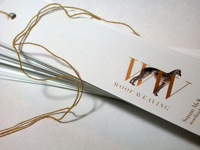 Wolf Weaving Tags