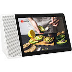 "Lenovo - 8"" Smart Display with Google Assistant - White/Gray"