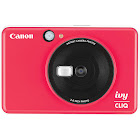 Canon ivy CLIQ 5.0 MP Compact Digital Camera - Ladybug red