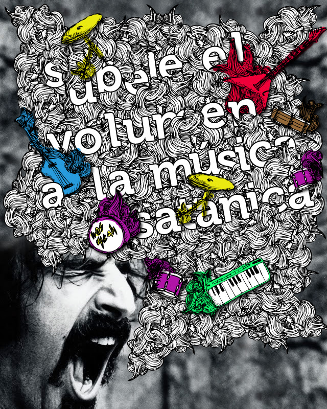 Súbele el volumen a la música satánica.
